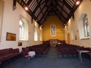 Interior of St John's Church, Weston Rhyn