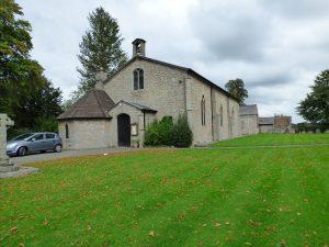 external view of church