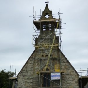 Pointing work starts at St John Weston Rhyn