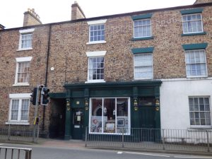 Listed Building Consent granted for alterations to shop and flat in nineteenth century terrace