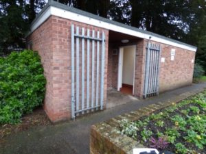 Public toilets for a public sectorcommunity council in Wales